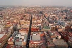 centrum miasto Mexico Obrazy Royalty Free