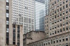 centrum miasto nowy Rockefeller York Zdjęcia Stock