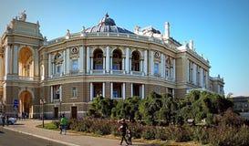 Centrum miasto Odessa fotografia stock