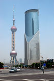 centrum miasto Shanghai Obraz Royalty Free