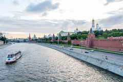 Centrum Moskou Stock Afbeelding