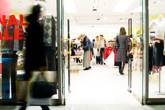 centrum nabywców na zakupy. Obrazy Stock