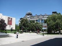 Centrum - Novi Sad Royaltyfri Fotografi