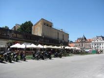 Centrum - Novi Sad Arkivfoto