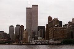 centrum nowego Jorku światowego handlu Fotografia Royalty Free