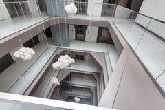centrum nowoczesny budynek obrazy royalty free