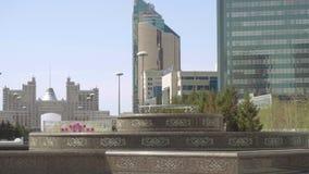 Centrum nowy Astana zbiory wideo