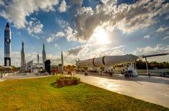 centrum ogrodowa Kennedy rakiety przestrzeń obrazy stock