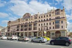 centrum pięć hotelu metropol Moscow kwadratowy gwiazd theatre widok Fotografia Stock