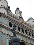 Centrum Poznański miasto Fotografia Stock
