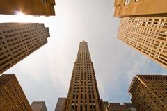 centrum Rockefeller Obrazy Royalty Free