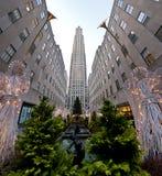centrum Rockefeller Fotografia Royalty Free