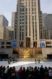 centrum Rockefeller Zdjęcia Royalty Free