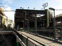 centrum ruina jeden Fotografia Stock