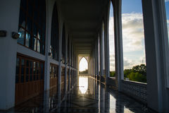 Centrum Songkla meczet Tajlandia Fotografia Stock