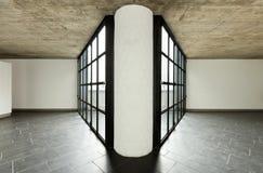 centrum szpaltowy wielki perspektywiczny okno Zdjęcie Royalty Free