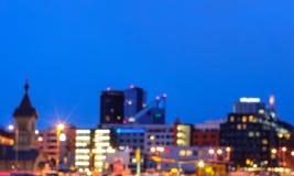 Centrum Tallinn, zamazujący Fotografia Stock