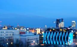 Centrum Tallinn, zamazujący Zdjęcia Stock