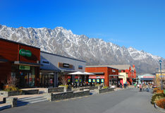 centrum target489_1_ remarkables Zdjęcia Stock
