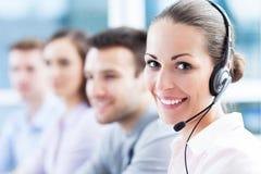 Centrum telefoniczne drużyna
