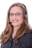centrum telefoniczne kobieta Fotografia Stock