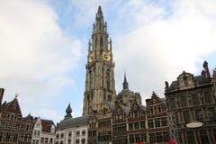 Centrum van Antwerpen, België stock fotografie