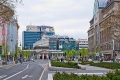 Centrum van Berlijn Stock Afbeeldingen