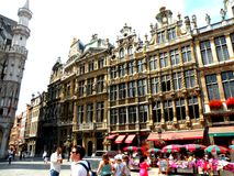 Centrum van Brussel Stock Afbeelding