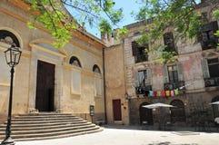 Centrum van Cagliari Royalty-vrije Stock Afbeeldingen