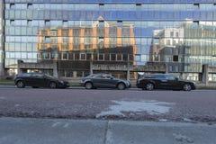 Centrum van Charleroi Stock Foto's
