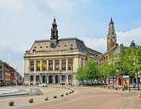 Centrum van Charleroi, België royalty-vrije stock fotografie
