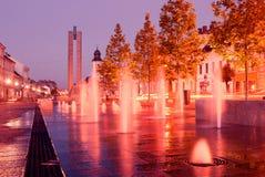 Centrum van Cluj Stock Fotografie