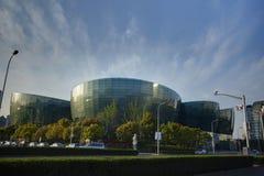 Centrum van de Kunst van Shanghai het Oosterse Royalty-vrije Stock Fotografie