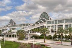 Centrum van de Overeenkomst van de Provincie van Orlando het Oranje Royalty-vrije Stock Foto's