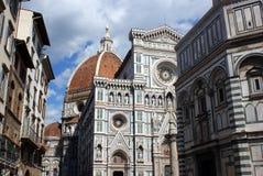Centrum van Florence royalty-vrije stock afbeelding