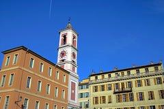 Centrum van Nice, Frankrijk royalty-vrije stock afbeelding