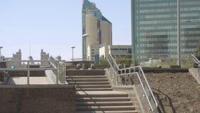Centrum van nieuwe Astana stock footage