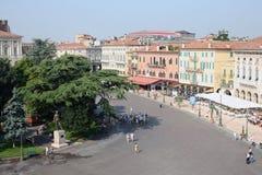 Centrum van Oude Verona Italy Stock Fotografie