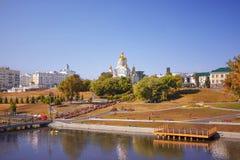 Centrum van Saransk stock afbeeldingen