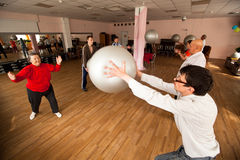 Centrum van sociale voorzieningen voor gepensioneerden/gehandicapten Stock Fotografie