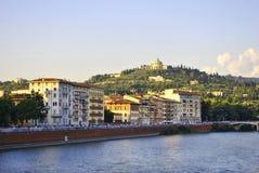 Centrum van Verona royalty-vrije stock foto's