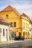 Centrum van Vinkovci Royalty-vrije Stock Foto's