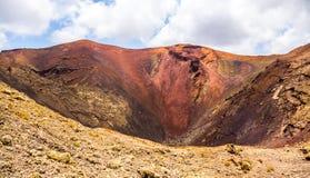 Centrum volcan Obraz Royalty Free