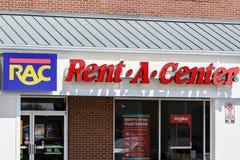 centrum wejścia znak Fotografia Royalty Free