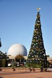 centrum święto bożęgo narodzenia Disney epcot Zdjęcie Stock