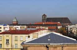 centrum wroclaw Zdjęcia Royalty Free