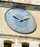 centrum zegarowego Croatia szczegółów novigrad stara wieża romania sighisoara Obrazy Stock