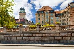 Centrum Zurich Obraz Royalty Free