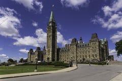 Centrumblok van het Parlement Royalty-vrije Stock Foto's