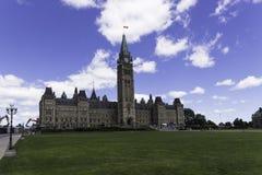 Centrumblok van het Parlement Royalty-vrije Stock Afbeelding